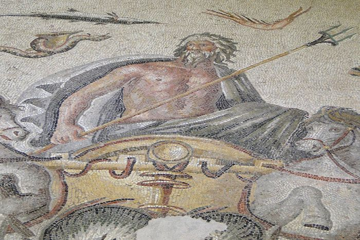 A RACE TO SAVE ROMAN SPLENDORS FROM DROWNING