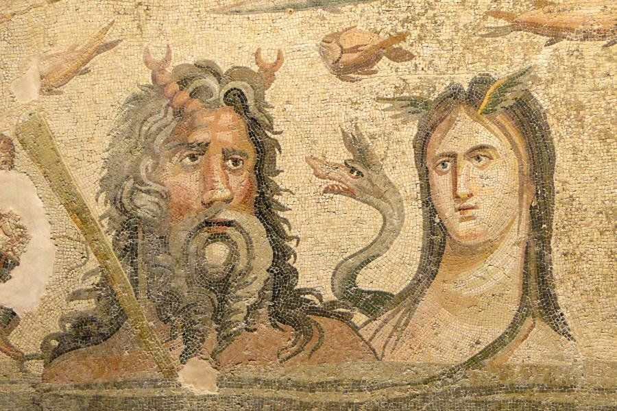MOSAICS REVEALED AT ANCIENT GREEK CITY OF ZEUGMA IN TURKEY - SEE MORE AT: HTTP://EU.GREEKREPORTER.COM/2014/11/11/MOSAICS-REVEALED-AT-ANCIENT-GREEK-CITY-OF-ZEUGMA-IN-TURKEY/